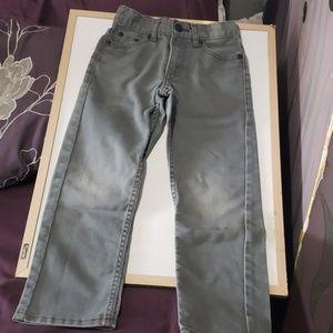 Toddler boy gray washout Levi's  Skinny jeans